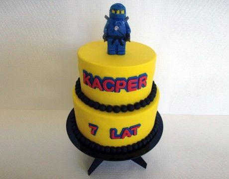 Torty Kraków Tort urodzinowy - Cukiernia Gateau Tort z ludzikiem Lego #cake, #tort, #lego, #ludzik, #urodziny www.cukierniagateau.pl