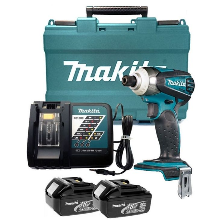 Makita DTD146RME 18V 4.0Ah Cordless Impact Driver Drill / 220V Charger #Makita #DTD146RME #18V #4.0Ah #Cordless #Impact #Driver #Drill #220V #Charger