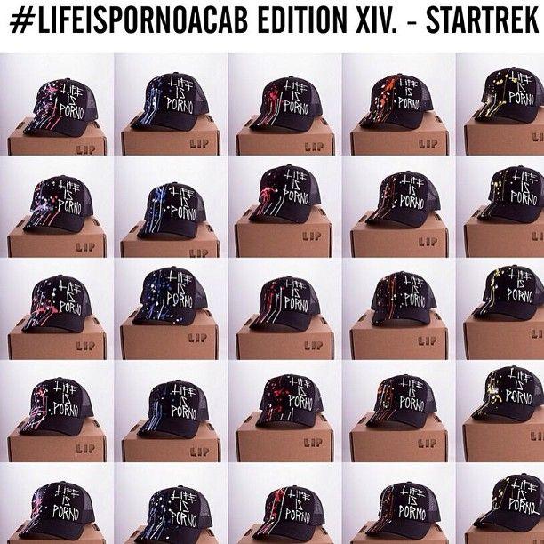 Each week a new edition of Life is Porno ACAB caps. Check lifeisporno.com.