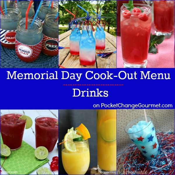 memorial day menu pinterest