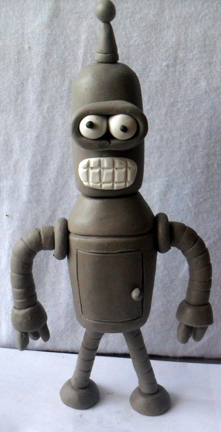 Bender en plastilina !!!