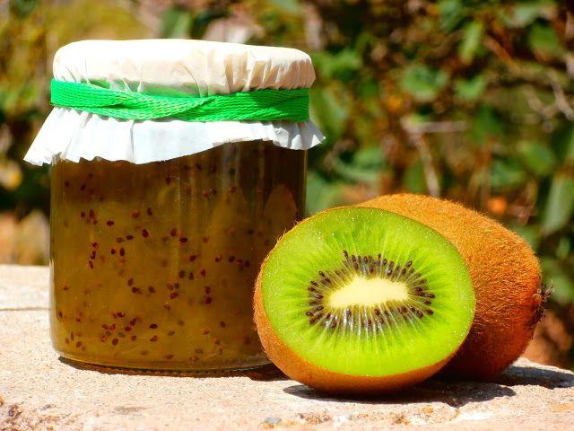 Las recetillas de Isa: Mermelada de kiwi