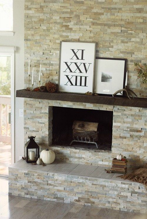 Best 25 Stacked Stones Ideas On Pinterest Stacked Stone Fireplaces Stone Fireplace Makeover