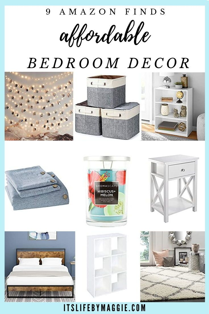 9 Amazon Finds Affordable Bedroom Decor In 2020 Affordable