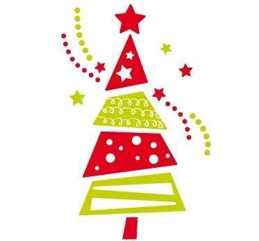 Resultado de imagen para vinilo navidad arbolito