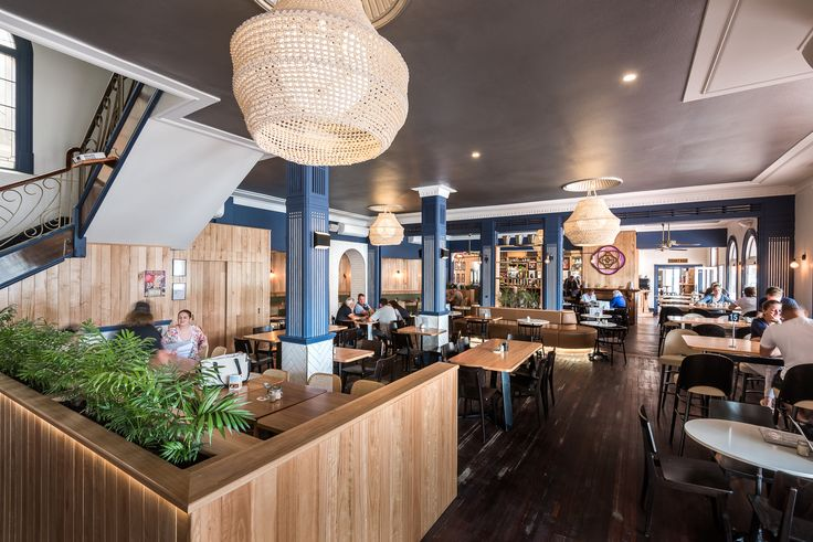 Hospitality Design by Benson Studio. Restaurant and bar design at the Historic Rose Hotel in Western Australia