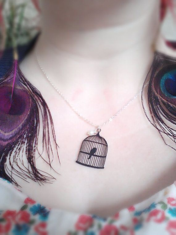 Inside the birdcage kitsch vintage retro by BeUniqueJewellery, £4.50    https://www.etsy.com/listing/99217116/inside-the-birdcage-kitsch-vintage-retro