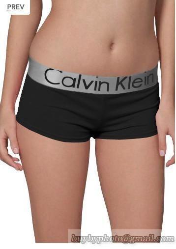 Calvin Klein Black Silver Women Boxer Underwear