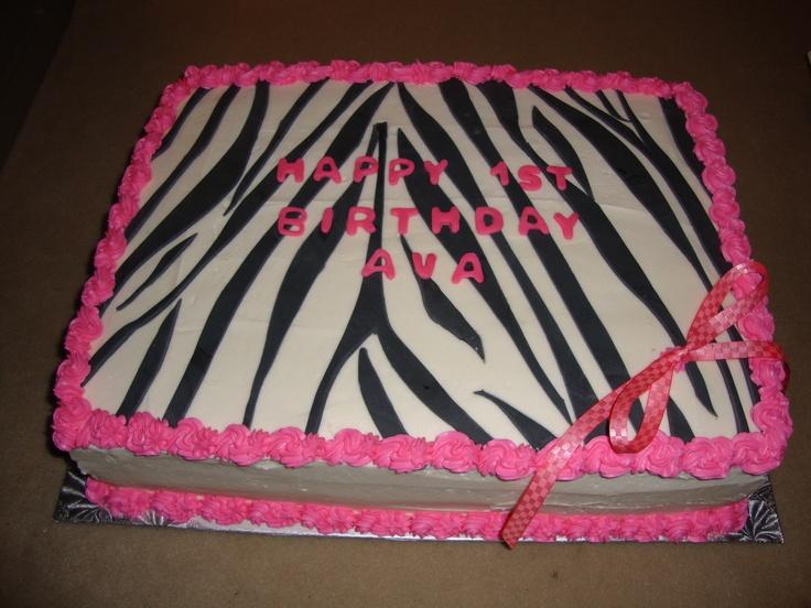 Cake Designs Zebra Print : 17 Best ideas about Zebra Print Cakes on Pinterest ...