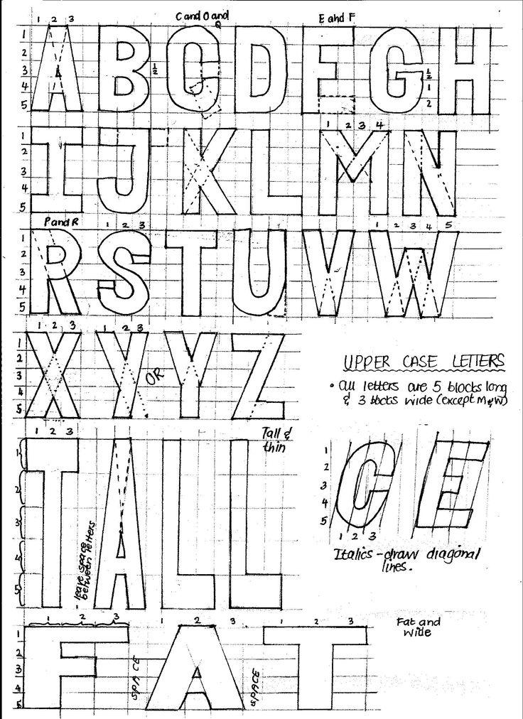 Poster Letters Upper Case 1700x2338 Pixels
