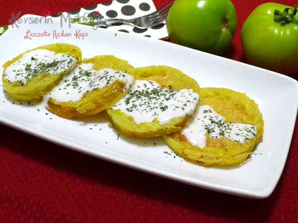 Fired Green Tomatoes