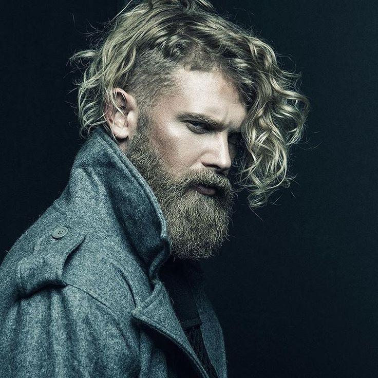 Josh Mario John - thick blonde beard beards bearded man men mens' style fall winter fashion clothing blond bearding #beardsforever