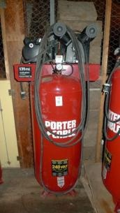 Porter Cable Air Compressor. Found on YouBidLocal Fort Henry Inventory Surplus Auction.