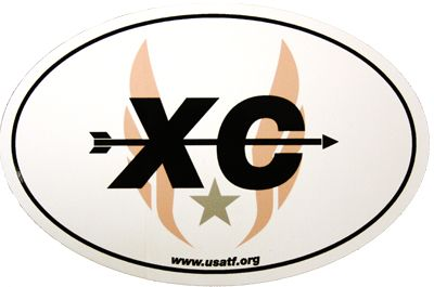 Product image: USATF XC Sticker/Magnet