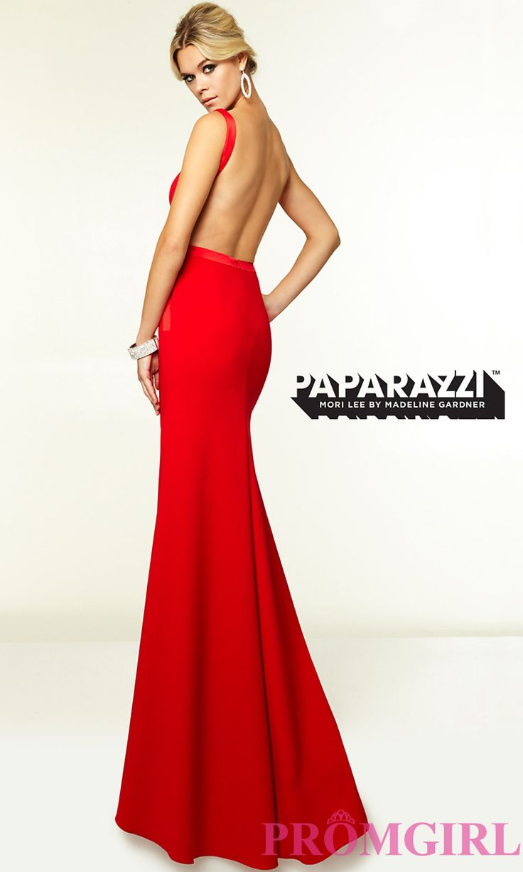 Image of Mori Lee 97099 Sleek Backless Prom Gown Style: ML ... - photo #35
