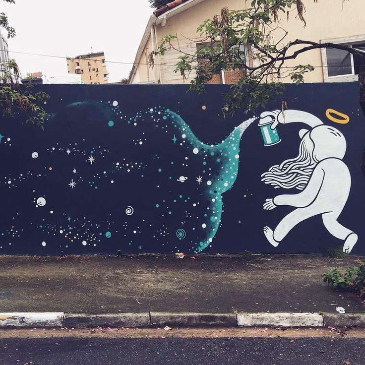 Arte callejero - Street art - Amusing and Childish Murals in São Paulo. Fubiz Media