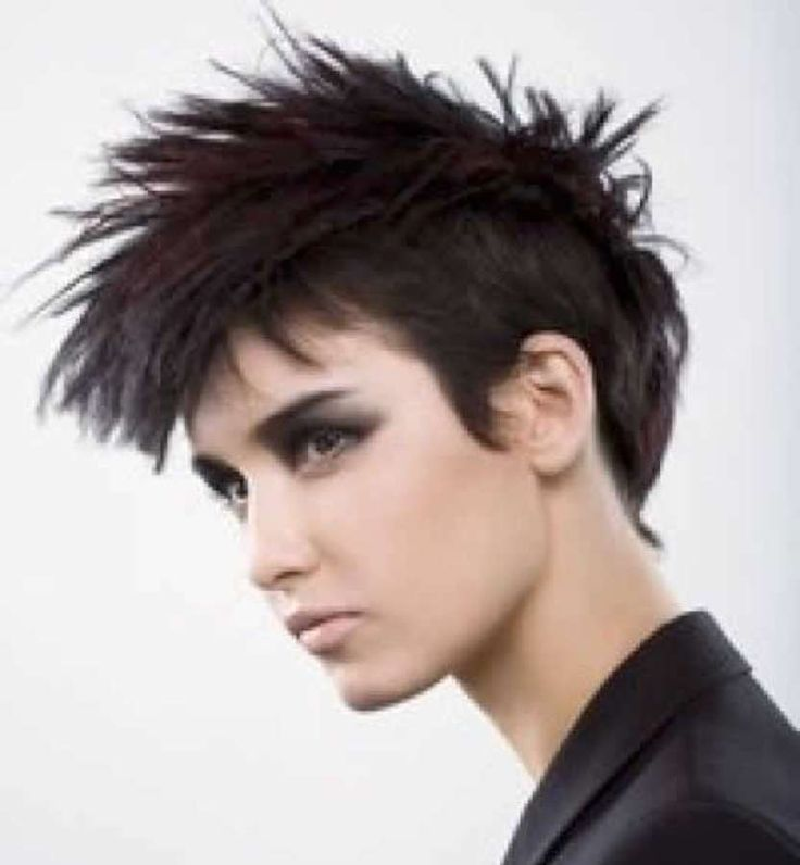 Terrific 1000 Ideas About Short Punk Hairstyles On Pinterest Buzz Cut Short Hairstyles For Black Women Fulllsitofus