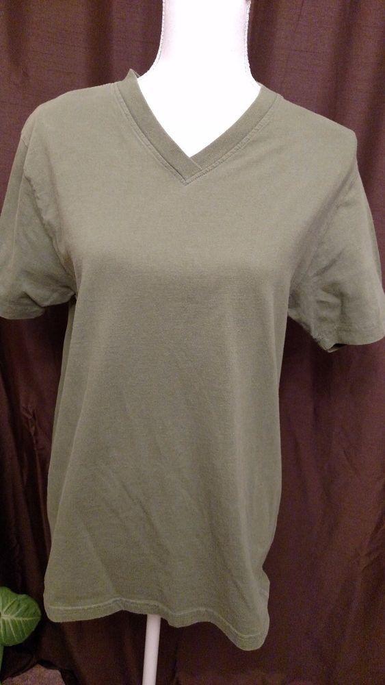 Lady Foot Locker Women's Green T-Shirt Size L #LadyFootLocker #BasicTee