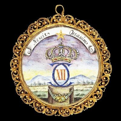 Karl XII av Sverige, medaljong CXII, nordstjärna