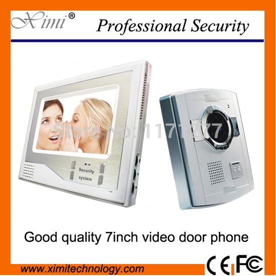 """==> [Free Shipping] Buy Best DHL free shipping good looking 7"""" TFT LCD video door phone video door bell with night version camera Online with LOWEST Price 