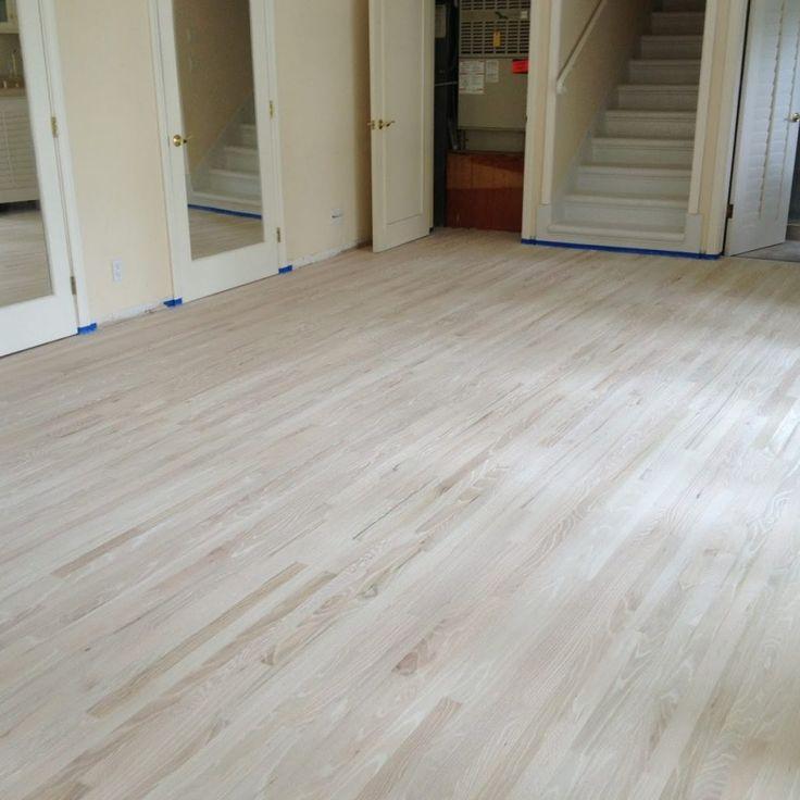 Bleaching Oak Hardwood Floors