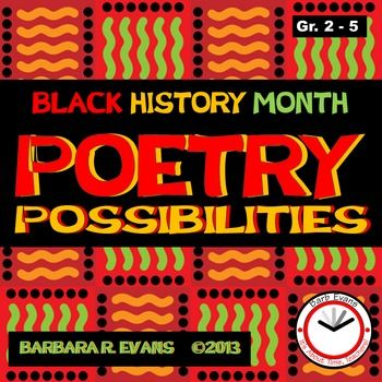 POETRY UNIT: Black History Month Poetry PossibilitiesPOETRY POSSIBILITIES for…