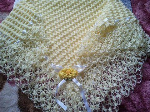 Manta /cobijita  /colcha / frazada para bebe en crochet fácil y rápido (original) parte 1 de 3 - YouTube