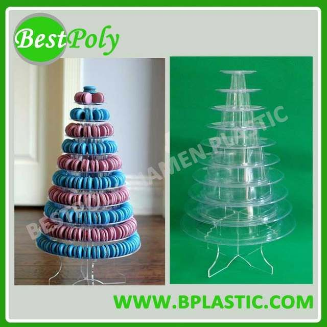 Online Shop 1 Set 10 Tiers Macaron Display Stand Macaron Tower Macaron Tree Perfect For Displaying Aliexpress Mobile Macaron Tower Macarons Display Stand