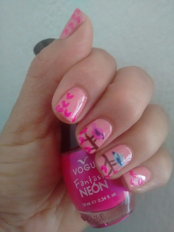 Nails Birds Love