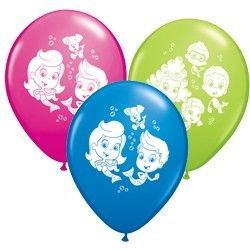 Bubble Guppies Balloons, Bubble Guppies Party Supplies