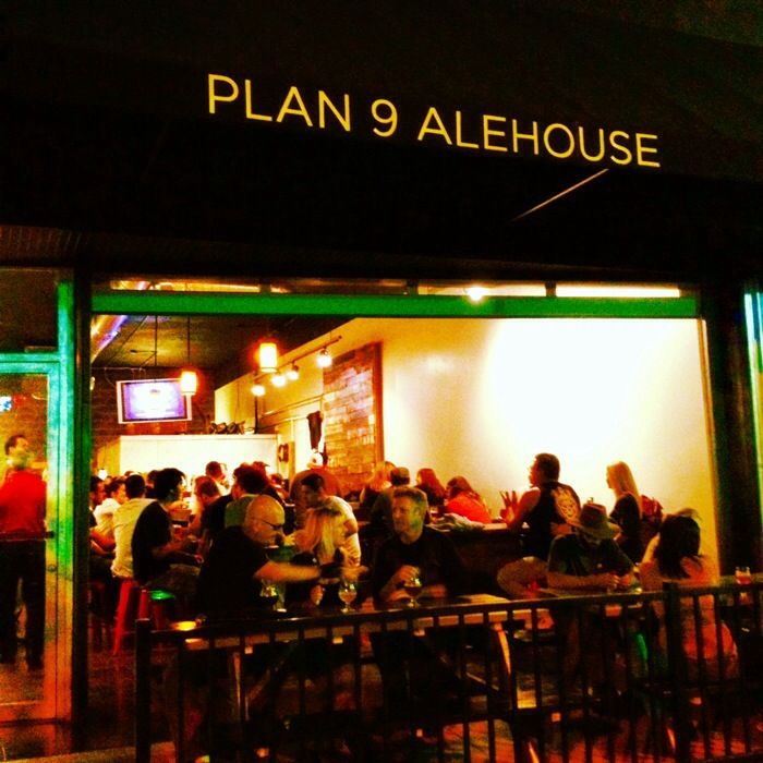 Plan 9 Alehouse in downtown Escondido.