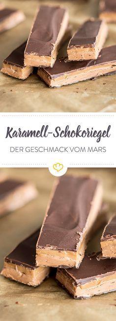 Karamell-Liebhaber aufgepasst: Ab sofort könnt ihr euch den Planeten-Schokoriegel selber machen. Cremig-süß und einfach wunderbar!