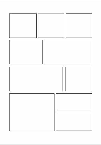 Ya están disponibles nuestras primeras plantillas en blanco con viñetas para crear y dibujar historietas. Las puedes imprimir y utilizar pa...