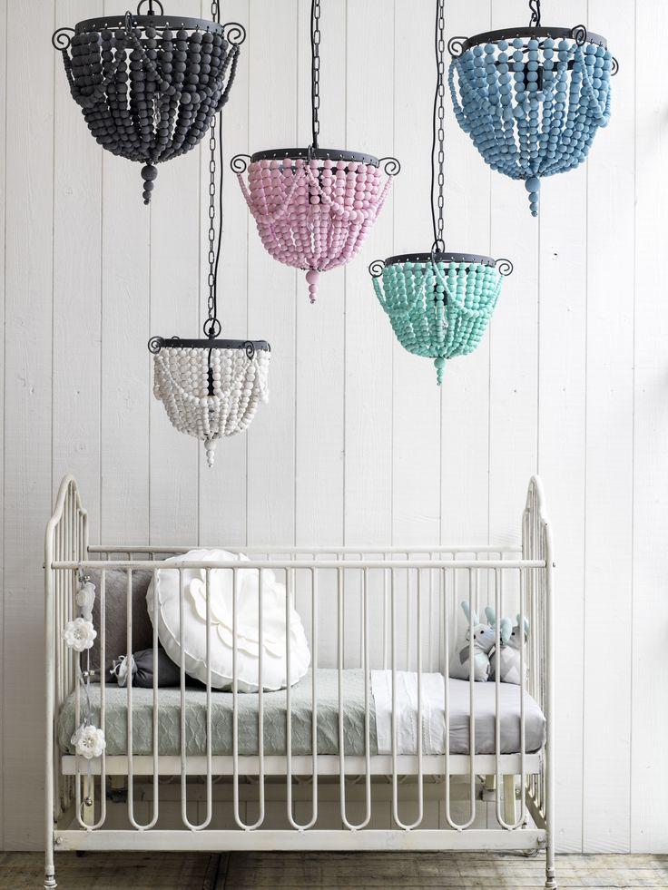 Bead hanging lamps www.kidsdepot.nl