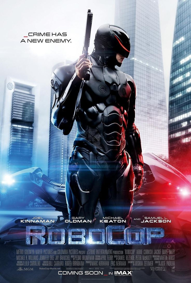 RoboCop (2014) In a crime-ridden city, a fatally wounded cop returns to the force as a powerful cyborg with submerged memories haunting him.