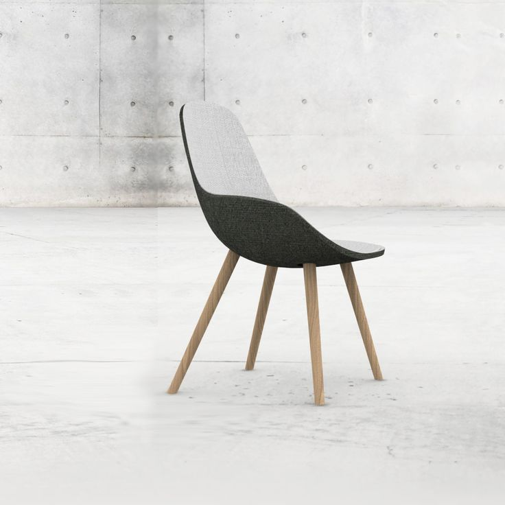 LAUF Chair In Grey U0026 Black | Chair . Stuhl . Chaise | Design: Trine