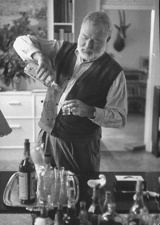 """""""A Hemingway Special."""" - a shot of lime juice and a generous shot scotch whisky."""