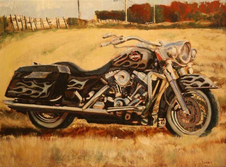 Harley - Oil Paintings