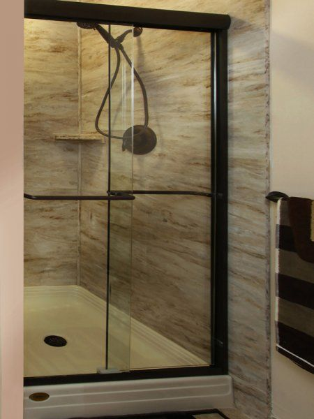 59 best Bathroom images on Pinterest | Acrylic shower walls ...