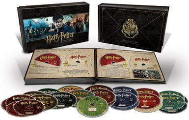 Harry Potter Hogwarts Collection 31 disc boxset (Dvd & Blu-ray) #dvd #bluray #harrypotter #hogwartscollection