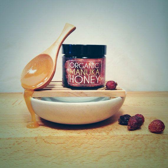 100 Raw Manuka Honey by FoxandBowOrganics on Etsy, $12.50