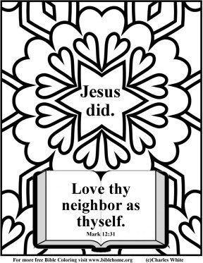 christian youth coloring pages - photo#35