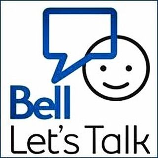 Today is Lets Talk Day. Did you know that 1 in 5 Canadians will experience a form of mental illness at some point in their lives.-(Canadian Institute of Health Research) #BellLetsTalk Check out www.letstalk.bell.ca to see what you can do today to help.
