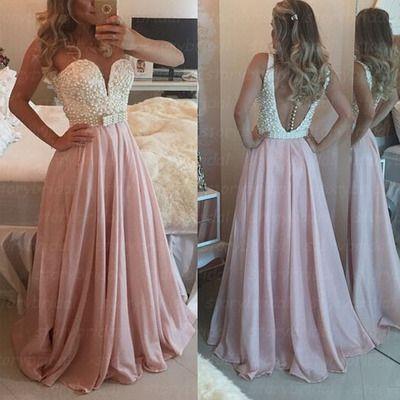 Sleeveless prom dress,Sweetheart prom dress,http://bridesmaiddress.storenvy.com/products/13686945-sleeveless-prom-dress-sweetheart-prom-dress-v-back-prom-dress-pink-prom-dre