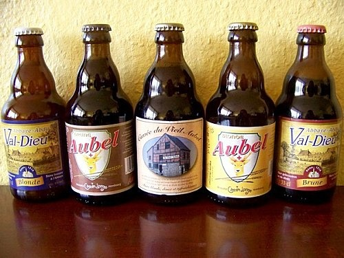 "Belgian beers !!! We have many beers in Belgium but those are made in a village from ""Pays de Herve"" Aubel."