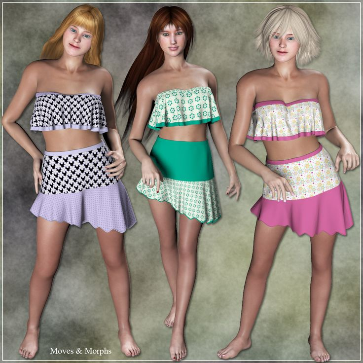 Poser - Pauline Summer Time and 10 beautiful styles by karanta