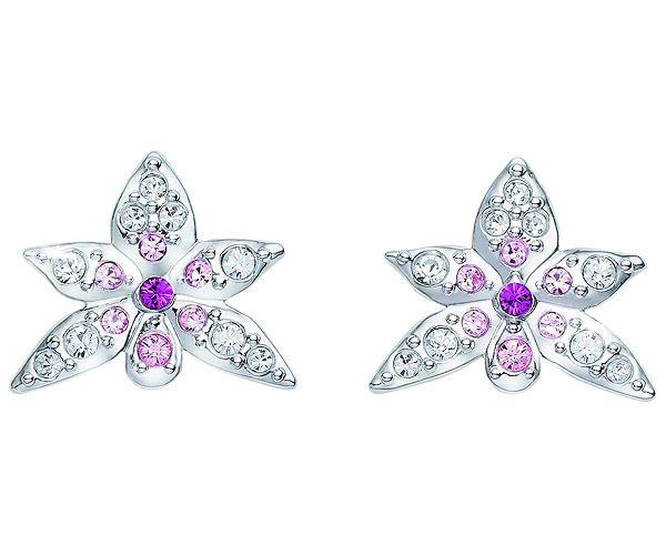 SCS Pierced Earrings Orchid