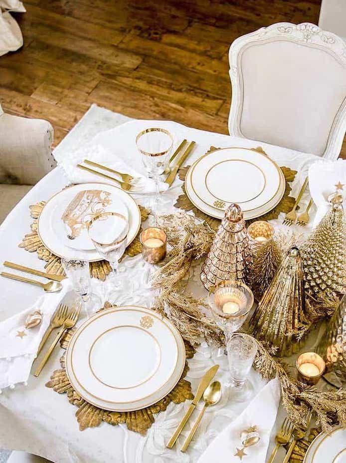 25 Ideen Fur Deine Ultimative Tischdeko Zu Weihnachten