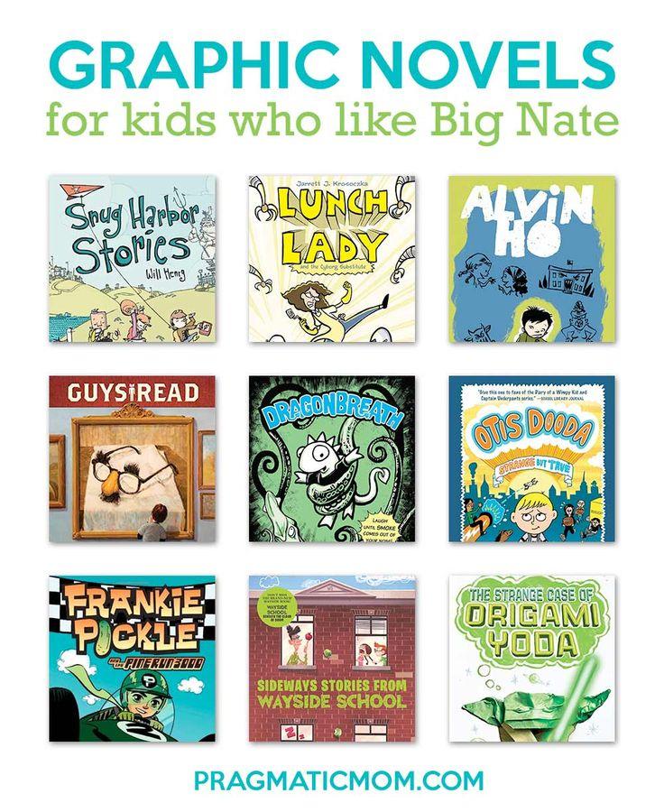 Graphic novels for kids who like big nate big nate