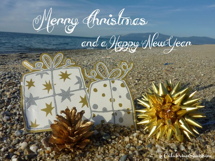 Coastal Christmas Cards by CalabrianSunshine - FREE DOWNLOAD on the blog